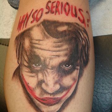 Why so serious Tattoo