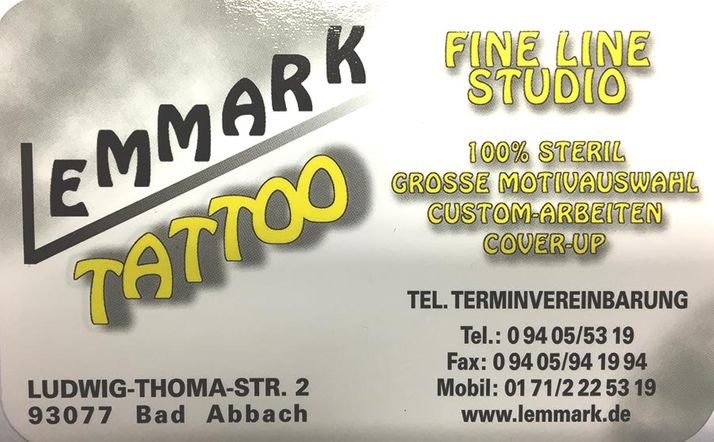 Logo Lemmark Tattoo